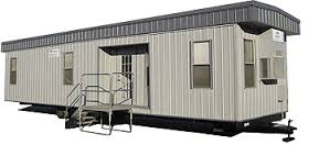 Used office trailers for sale pre owned job site for Mobile office trailer with bathroom